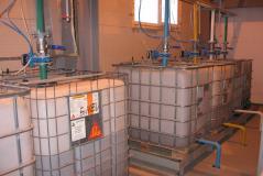 Модернизация складов химических добавок и линий транспортировки жидкстей